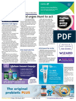 Pharmacy Daily for Fri 17 Mar 2017 - Guild urges Hunt to act, More pharmacy vax feedback, NZ pharmacy vax funded, Events Calendar and much more