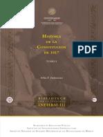 Historia Constitucion 1917 T I