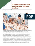 Muel – Uma Pequena Urbe Que Sensibiliza Crianças e Jovens Para a Cerâmica