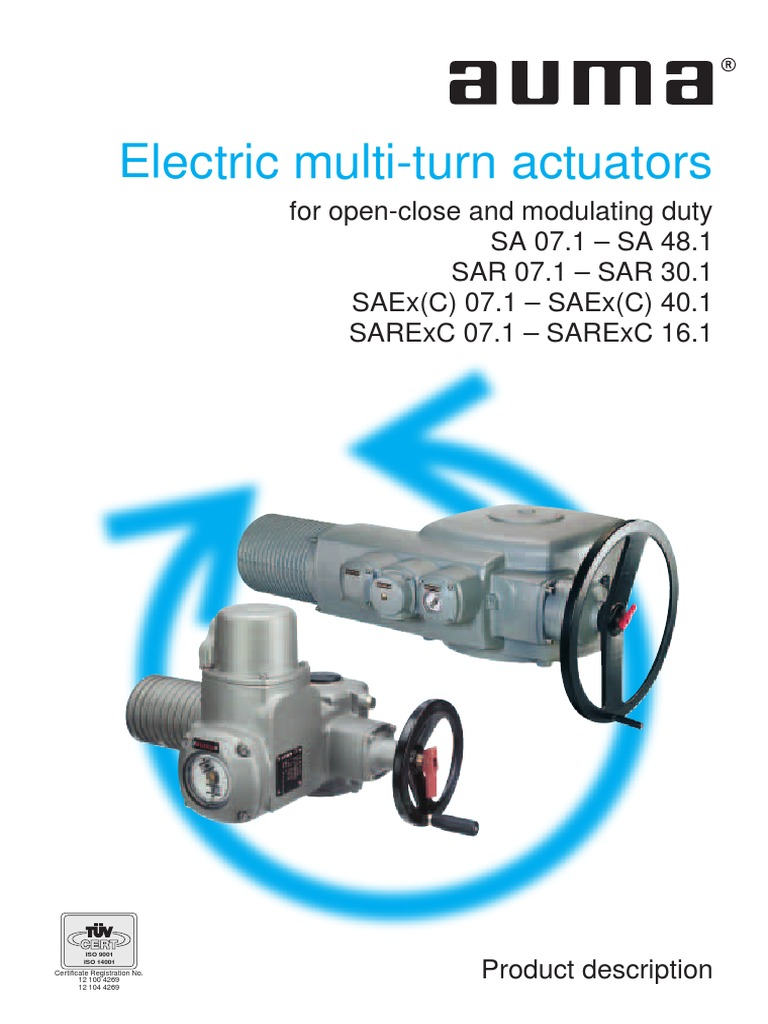 Auma Actuators Wiring Diagram Pdf Cat102074 00 Trusted Actuator Catalogo Sa Ingles Switch