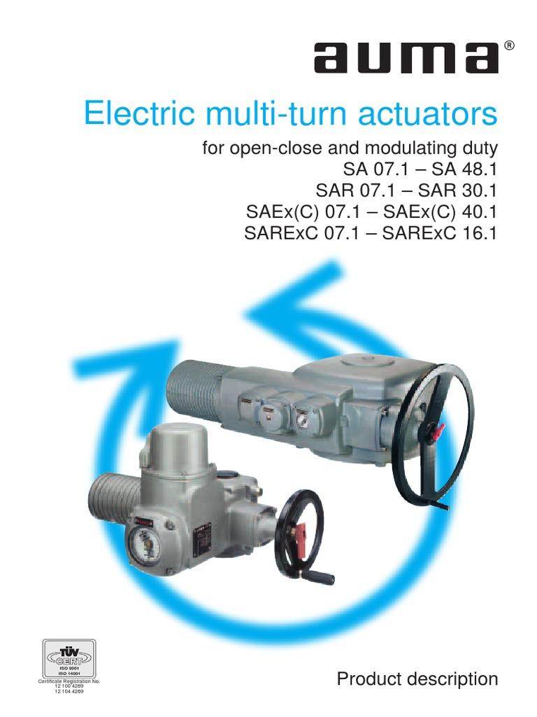 Auma Actuators Wiring Diagram Pdf Cat102074 00 Trusted Actuator Catalogo Sa Ingles Switch