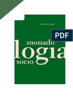 Tarde, Gabriel - Monadologia e Sociologia.pdf