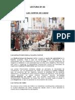 Resumen Cortes de Cadiz