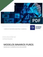 MODELOS BINARIOS PUROS - PROG_LINEAL