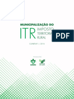 """MUNICIPALIZAÇÃO DO ITR – IMPOSTO TERRITORIAL RURAL.pdf"