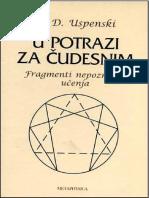 P. D. Uspenski - U potrazi za čudesnim