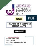 CSC138 - CODING