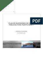 Plan Puertomontt Nov 2005