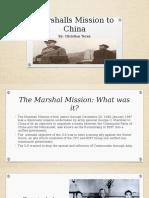 marshalls mission to china