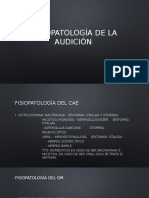 Fisiopatología de La Audición