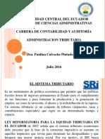 Administracion Tributaria 07 de Enero 2017