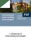 Conventional Welding Technologies