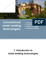 Conventional Welding Technologies
