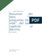 Resumen  Fernando Savater