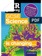 OCR Gateway GCSE Science Information Flyer