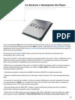 Hardware.com.Br-AMD Divulga Dicas Para Alavancar o Desempenho Dos Ryzen