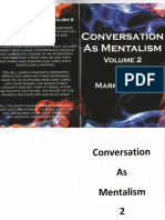 Conversation as Mentalism by Mark Elsdon (PDF) Vol.2