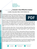 Translating Concern Into Effective Action