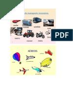 5 Medios de Transporte Terrestre Aereo y Maritimo