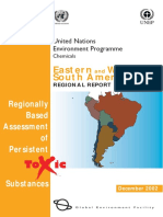 Eastern and Western South America Report UNEP Regionally Based Assessment of Persistent Toxic Substances