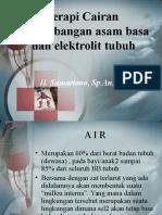 Terapi Cairan,  Keseimbangan elektrolit dan as bs.ppt