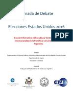 Dossier Debate Elecciones EEUU 2016