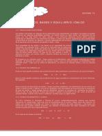 Acidos, Bases y Equilibrio Ionico