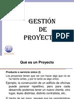Introdución a La Gestion de Proyectos