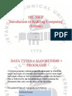 BIL106E_Lecture2
