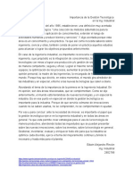 Importancia de la Gestión Tecnológica.docx
