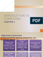 Chapter 01- Introduction to Computers