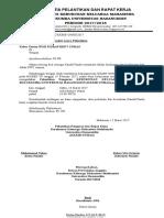 Surat Undangan Pelantikan Pengurus Kkmb_unhas Periode 2017-2018 by Rudi