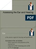 Assessing the Ear and Hearing
