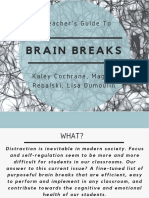 brain breaks presentation