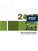 2017 i Iap Training Calendar