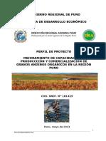 Proyecto de Articulación Comercial de Granos Andinos