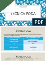 Técnica FODA