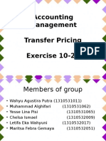 Docfoc.com-Accounting Management- Transfer Pricing Exercise