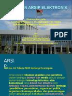 Kebijakan Arsip Elektronik - ANRI(1)