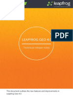 Leapfrog Geo Release Notes