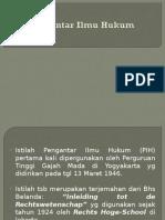 PIH Disiplin Hukum