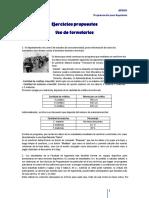 Ejercicios Formularios