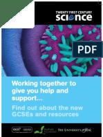 Twenty First Century Science Information Flyer