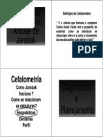 Diagnostico Cefalometrico - Análise Jarabak.pdf