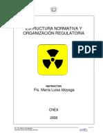 Estructura Normativa y Organización Regulatoria