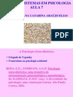 14 PDF TSP Aula7 Socio-Historica