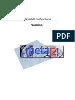 Manual Configuracion Nomina PeopleNet