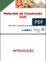 Aula 01 - Introdução - Princípios e Fundamentos Da Ciências Dos Materiais