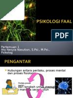 1. Pengantar Psikologi Faal