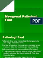 2. Mengenal Psikologi Faal